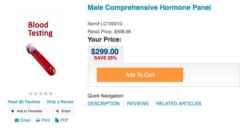 Male Hormone Panel Pic